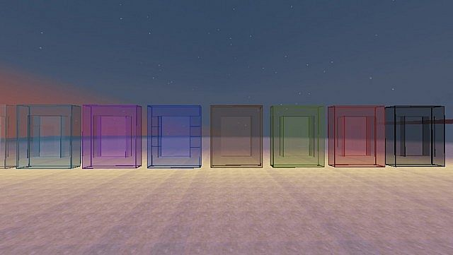 Clean Glass Connected Glass 1 7 Minecraft Texture Pack