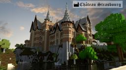 Germanic Castle - Château Strasbourg - World of Keralis Minecraft Map & Project