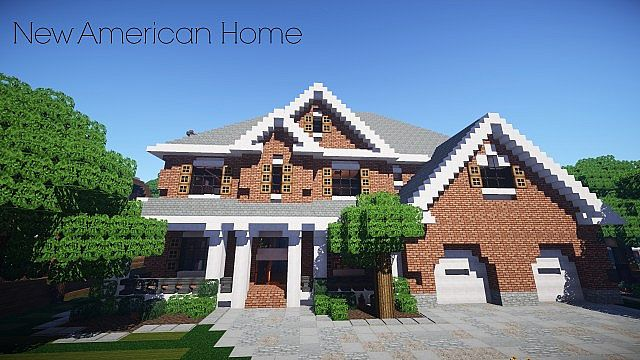 New American Home Minecraft Project