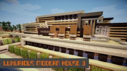 Luxurious Modern House ★3★ 700 sub Special! Minecraft