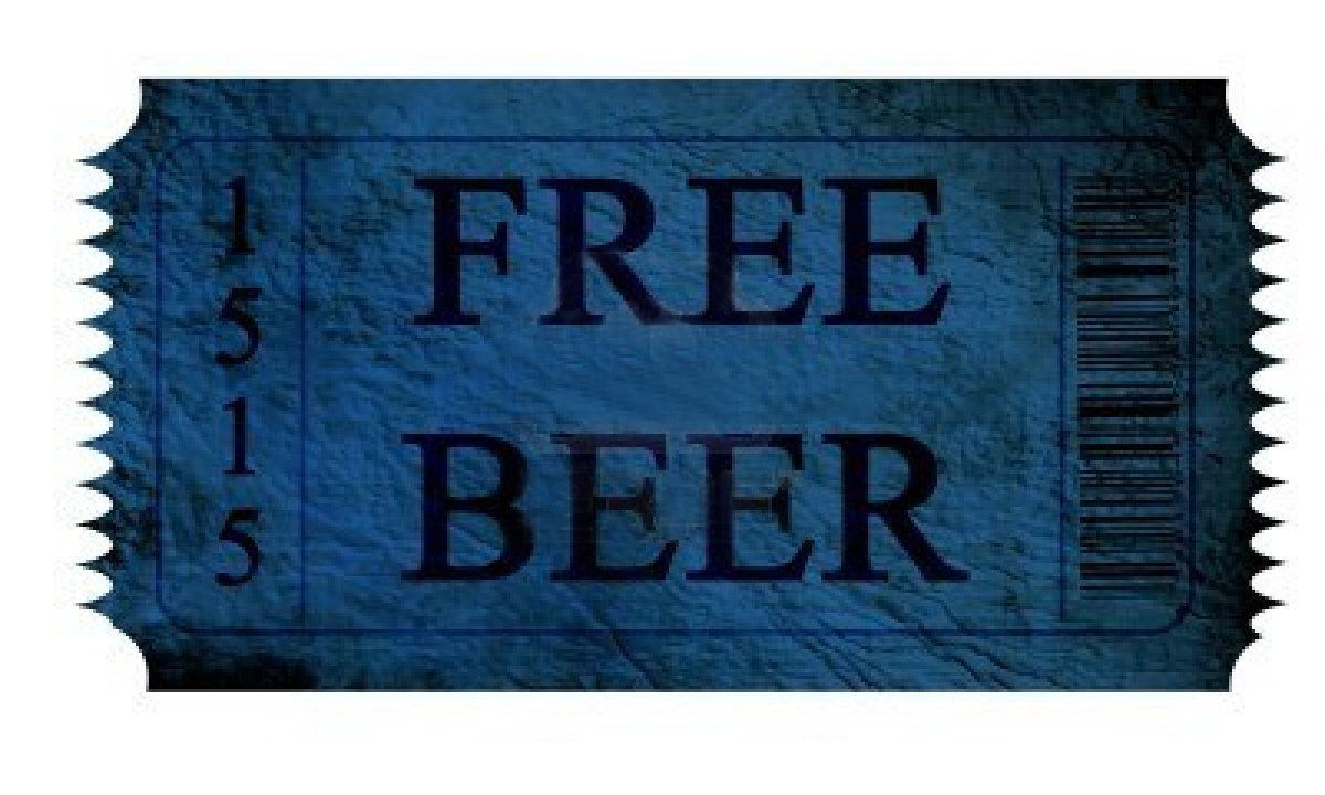 Free beer coupons online