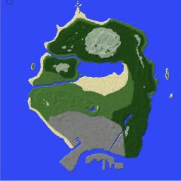 Custom Made GTA V World Minecraft Map & Project