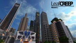 LeafCREEP City | Downloadable | 100 Subscribers special Minecraft Map & Project