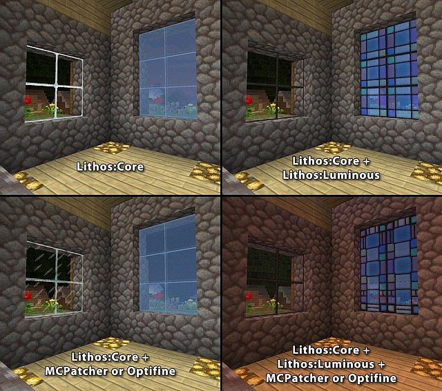 Different appearances of Glass in Lithos