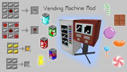 [WIP] [Forge] Vending Machine Mod Minecraft Mod