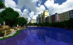 Metrosolaris - A Modern Realistic Minecraft City. Minecraft