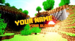 Minecraft Youtube Channel Art - Template Minecraft Blog