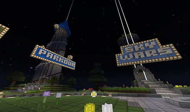 Parkour and SkyWars