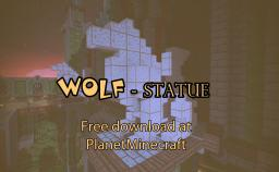 Free Download! - Wolf Statue design Minecraft Map & Project