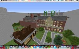 MCBall University Minecraft Map & Project