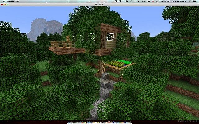Minecraft Simple Tree ...