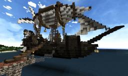 Survival airship Minecraft