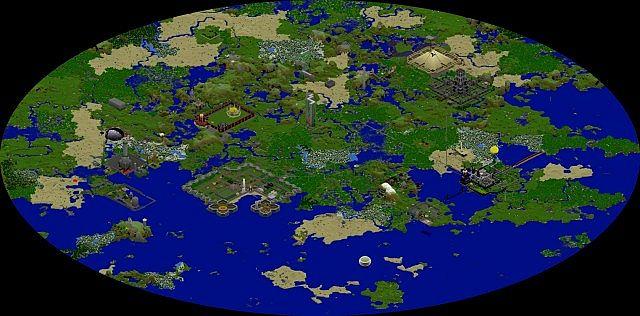 Erisia - 2nd major world.