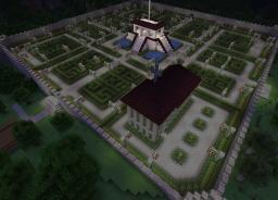 The Spawn in the 1.6 world Minecraft Map & Project
