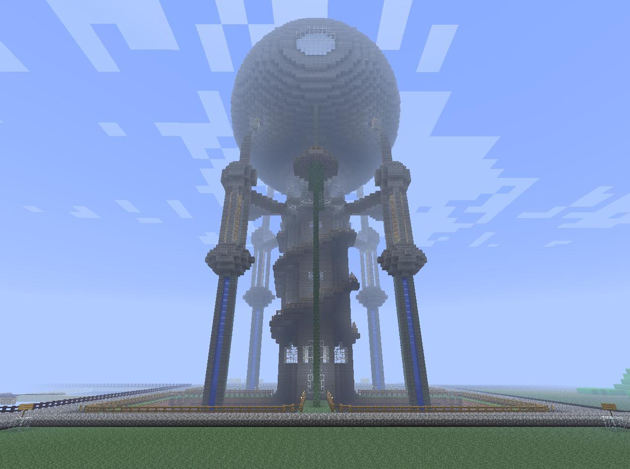 Minecraft Nuke Station Minecraft Project