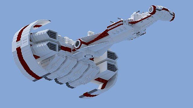 StarWars Rebel Blockade Runner Minecraft Project