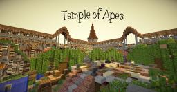 Temple of Apes - Jungle temple build Minecraft Map & Project