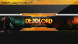 Speed Art #1 - YouTube Channel Art by DezoLord Minecraft Blog