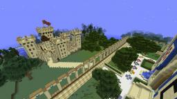 Warzone Castle Minecraft Map & Project