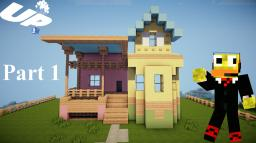 Minecraft: Lets Build Disney Pixar Up House Minecraft Map & Project