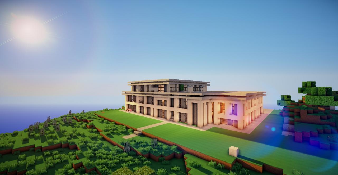 Big modern mansion discontinued