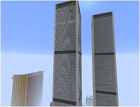 World Trade Center Full Complex Minecraft Project