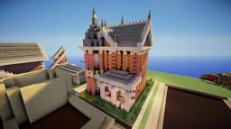 Traditional Build-Off Victorian House Minecraft Map & Project
