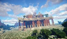 Timelapse : Sharadan - An indian palace [download] Minecraft Map & Project