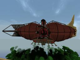 Fire Nation Airship Minecraft Map & Project