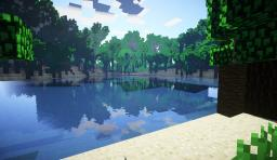 survival Island. Environment map. Minecraft Project