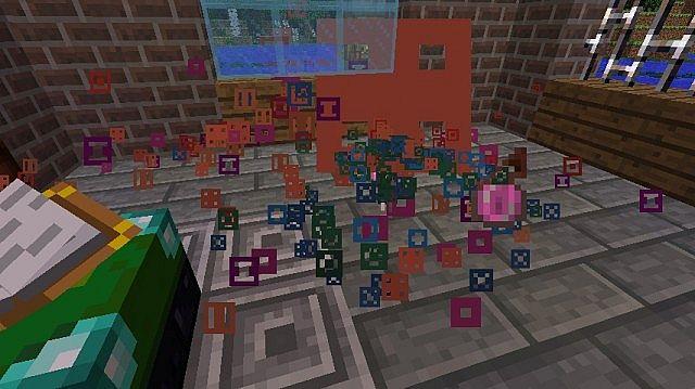 Particular Particles Every potion has unique colours