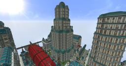 1920's inspired skyscraper Minecraft Map & Project
