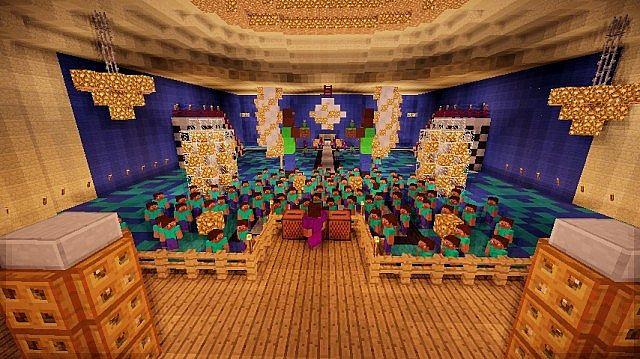 Lotus Hotel & Casino Minecraft Map