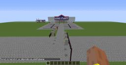 Wal-Mart Minecraft Map & Project