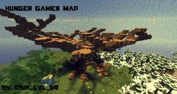 Hunger Games Map w/ Giant Tree Minecraft