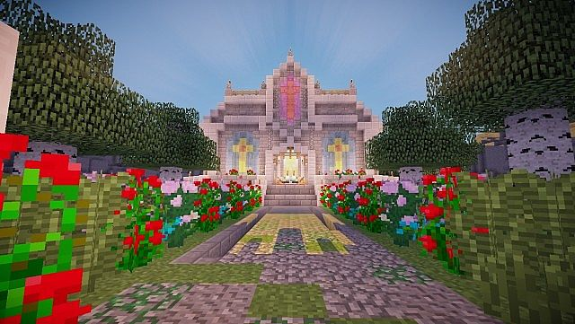Modern Medieval Marriage Chapel Minecraft Project