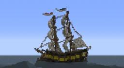 HMS Triumph! - Royal Navy Brig Minecraft Map & Project