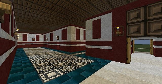 Large Decorated Roman Domus Minecraft Project