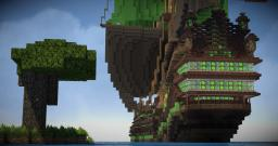 The Emerald Queen Galleon - world DL - Final Minecraft Map & Project