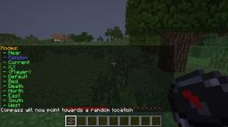 CompassModes - Adds per world, per user, highly configurable compass mechanics. Minecraft Mod