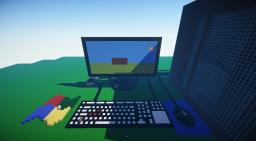 Giant Computers Minecraft Map & Project