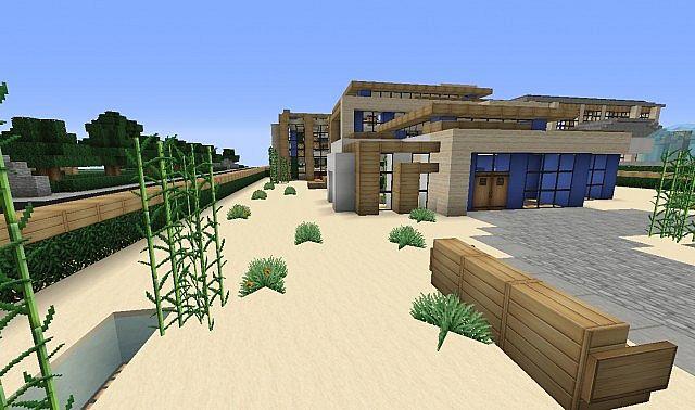vinny 39 s modern mansion minecraft project