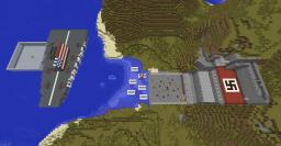 D-Day PVP Minecraft Map & Project