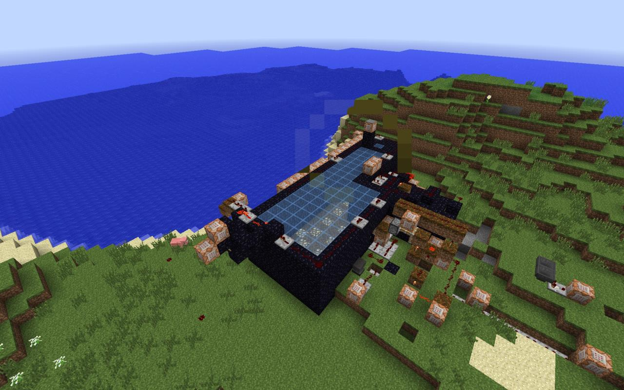 300 zombie survival minecraft project