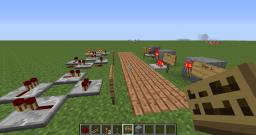 Two very basic automated redstone systems Minecraft Map & Project
