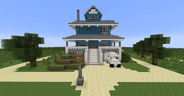 Regular Show Park House Minecraft Project