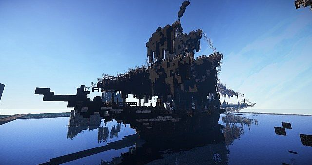 Pirate Ship Black Pearl Minecraft