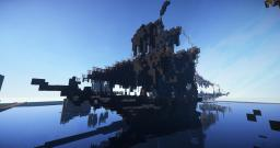 Minecraft Pirateship (Black Pearl) Minecraft