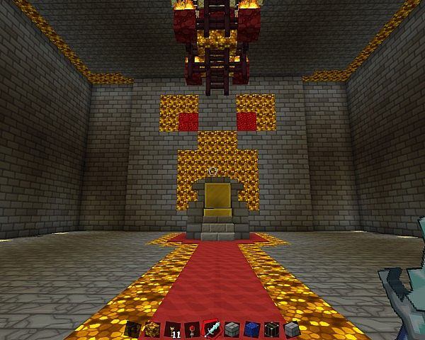 Powerless S Creeper Castle With Mostly Compleated Throne
