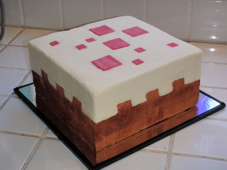 Minecraft Block Cake Images : How big are Minecraft Blocks in Real Life? [Theory ...